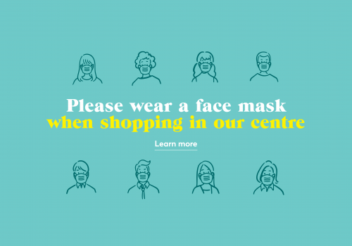 Please wear a face mask when shopping at Southgate